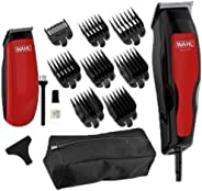 WAHL Home Pro 100 Combo Hair Clipper+Trimmer, 1395-0416 (Black/Red)