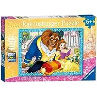 Ravensburger Italy 10861 - Puzzle per Bambini Ariel La Bella e la Bestia, 100 Pezzi