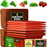#7: TrustBasket Standard Super Saver GrowKit-Vegetable Gardening kit for Greens and Vegetables(Coriander,Methi,Tomato,Chilli Green,Carrot) to Starters in their Balcony/Garden. Contains 16 inch uv treated plastic Pots, Organic Plant food, Hybrid Seeds, Cocopeat block, Detailed instruction manual. Easy to grow, Less maintenance. Grow your favourite vegetables for your kitchen