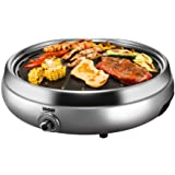 """Unold 58546 Tischgrill""""Asia"""", silber"""