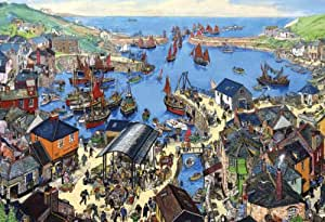Gibsons Cornish Haven Jigsaw Puzzle (500 pieces)