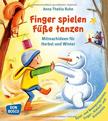 Finger spielen, Füße tanzen: Mitmachideen für Herbst und Winter (Band 1) - Herbst-bands