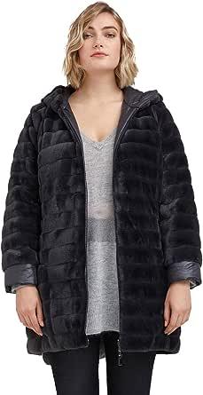 FIORELLA RUBINO : Cappotto Reversibile in Due Tessuti Donna (Plus Size)