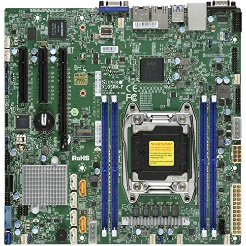 Supermicro x10srm-f Intel® C612LGA 2011(Socket R) MicroATX-Server Mainboard (Intel, Socket R (LGA 2011), 145W, E5-2600, DDR4-SDRAM, 1600,1866,2133,2400MHz)