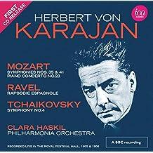 Herbert von Karajan: Mozart, Ravel, Tchaikovsky (Royal Festival Hall 1955 & 1956) [2 CDs]