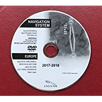 2018 JAGUAR XF XK & FREELANDER 2 SAT NAV MAP UPDATE UK DISC WESTERN EUROPE DVD