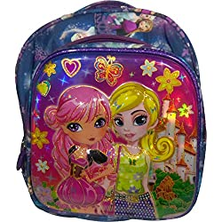 Barbie Disney Princess, Cindrella kid's School Bag For Girls - Pink