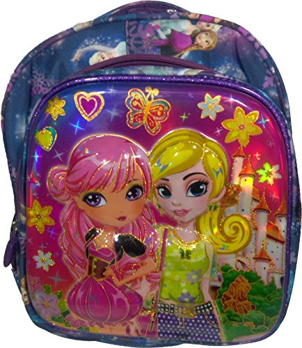 Barbie Disney Princess, Cindrella kid's School Bag For Girls - Pink  available at amazon for Rs.649