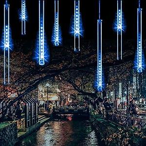 Luces de Navidad de Lluvia
