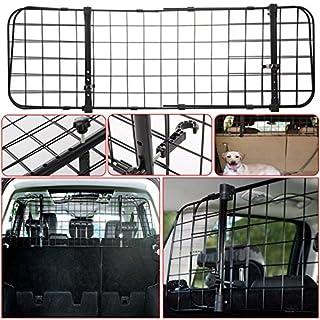 Universal-Schutzgitter für Kofferraum, für Haustiere, verstellbar, zur Befestigung an den Kopfstützen