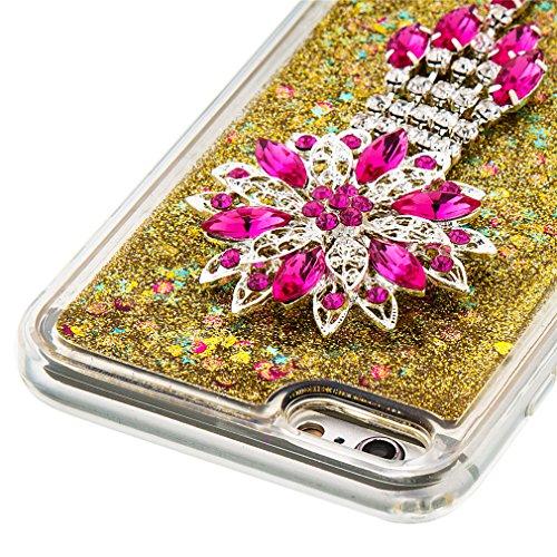 Mk Shop Limited Coque Housse Etui pour iPhone 7 Plus, iPhone 7 Plus Coque en Silicone Glitter, iPhone 7 Plus Silicone Coque Housse Transparent Etui Gel Slim Case Soft Gel Cover, Etui de Protection Cas Multi-couleur 5