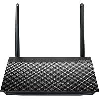 Asus RT-AC51U Router (WiFi 5 AC750, 4x Fast Ethernet LAN, App Steuerung, DFS, Multifunktion USB 2.0, IPv6, VPN)