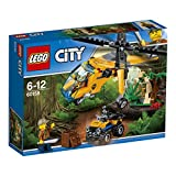 Enlarge toy image: LEGO UK 60158 Jungle Cargo Helicopter Construction Toy