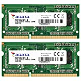ADATA USA DDR3 1600 8GB 204-Pin SO-DIMM Premier Series Memory Module (PC3 12800) AD3S1600W4G11-2