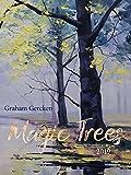 Magic Trees 2019: Großer Kunstkalender. Hochwertiger Wandkalender mit Werken von Bäumen von Graham Gercken. Kunst Gallery Format: 48 x 64 cm, Foliendeckblatt