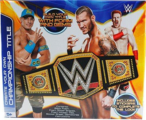 Mache Deine Eigene WWE Wrestling Champion Titel Gürtel - Jungen Handwerk Set