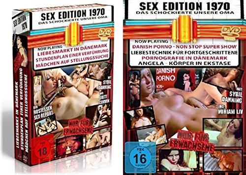 Sexy Classic - 10er SEX EDITION 1970 - Erotik Kultfilme die unsere Oma schockierten 10 DVD Limited Edition
