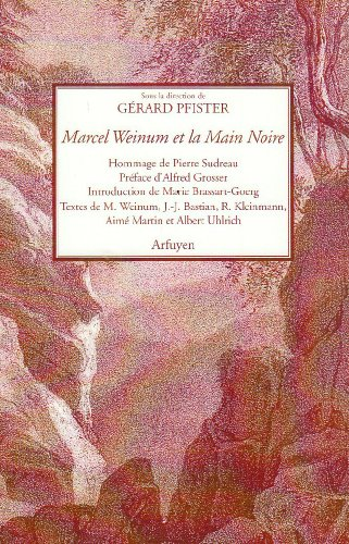 Marcel Weinum et la main noire par Gérard Pfister