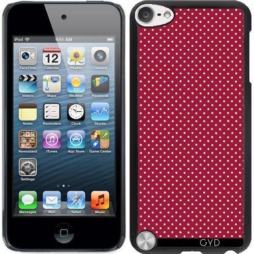 Hülle für Ipod Touch 5 - Kleine Rote Polkadots by JAMFoto Ipod Touch 5 Fällen Polka Dot