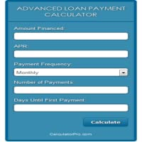 Advanced Loan Payment Calculator