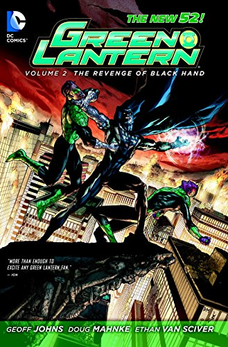 Green Lantern Vol. 2: The Revenge of Black Hand (The New 52) - Black Lantern Comics Dc