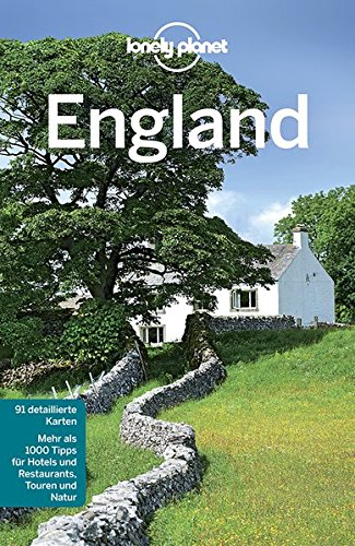 Lonely Planet Reiseführer England (Lonely Planet Reiseführer Deutsch) (Manchester Planet Lonely)