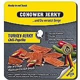 Conower Jerky Turkey Jerky, 25g Beutel , Chili-Paprika (5er Pack)
