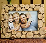 Homesake Wooden Logs Photoframe