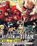 Attack On Titan - Anime Eps. 1-25 END / English Subtitle