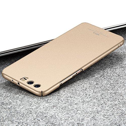 Coque Huawei P10 Plus 5,5 pouces, MSVII® PC Plastique Coque Etui Housse Case et Protecteur écran Pour Huawei P10 Plus 5,5 pouces - Or rose JY30042 Or