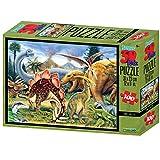 Howard Robinson Dino Valley Super 3D Puzzle (100, Mehrfarbig)