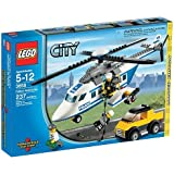 Lego City 3658 Helicóptero De Polícia