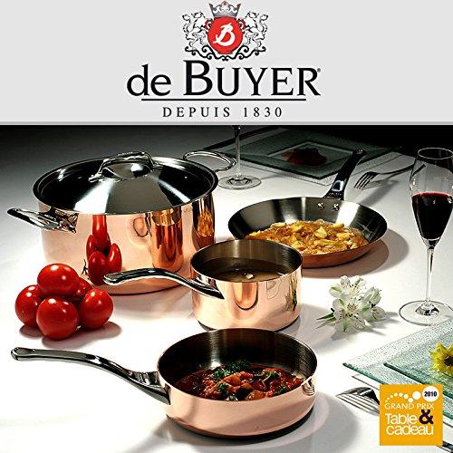 De Buyer Prima Matera-Batería de cocina de cobre + Especias