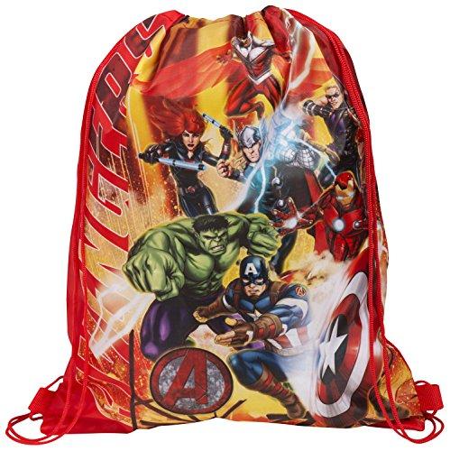 Marvel Avengers PE Drawstring Bag Back Pack Shoulder Shoe Bag Back To...