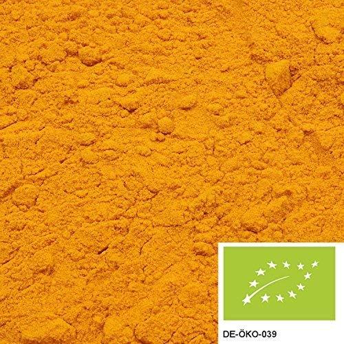 250g Bio Kurkuma gemahlen, versandkostenfrei (in D), Gelbwurz aus kontrolliert biologischem Anbau ohne jegliche Zusätze