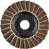 Polivlies Schleifscheibe Fächerscheibe PVL - Ø 115mm, Breite: 18mm, RPM: 13.300 - Korngröße: 100 G