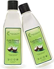 Nature Gate India Extra Virgin Coconut Oil 200 ml(1+1 Combo Offer)