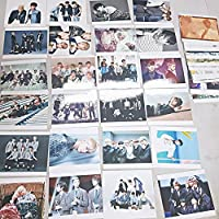 BTS Bantan Boys–Fotoset 52 Stück (7,6x 10,2cm) + SoltreeBundle Kugelschreiber (Schwarz)