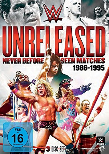 WWE UNRELEASED - Never Before Seen Matches: 1986-1995 [3 DVDs]