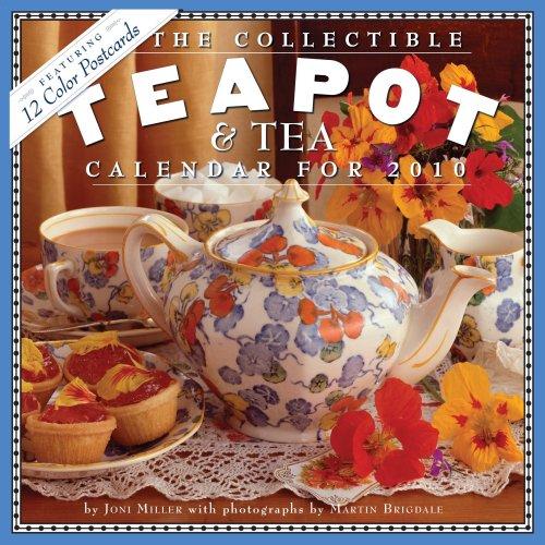 Collectible Teapot and Tea Calendar Fine China Teapot