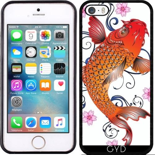 Coque pour Iphone 6 (4,7 '') - Art De Koi by WonderfulDreamPicture Silicone