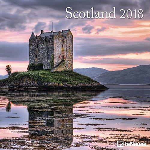 2018 Scotland Calendar - teNeues Grid Calendar - Photography Calendar - 30 x 30 cm