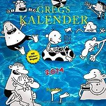 Gregs Kalender 2014: Mit Stickerbogen