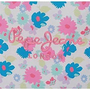 61O2F15H1qL. SS300  - Pepe-Jeans-Kasandra-Neceser-de-Viaje-22-cm-132-Litros-Multicolor