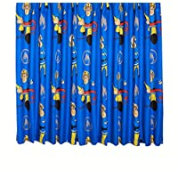 "Fireman Sam Curtains Rescue 66x54"" (168cms x 137cms)"