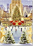 The Tree at Rockefeller Center Small Boxed Holiday Cards (Christmas Cards, Greeting Cards)