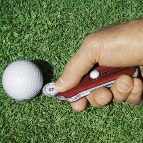 Victorinox Golf Tool Couteau suisse pour golfeurs Rouge