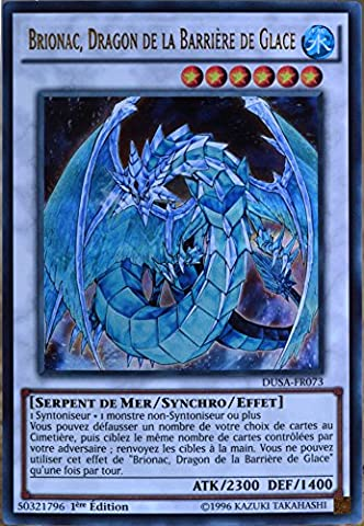 carte Yu-Gi-Oh DUSA-FR073 Brionac. Dragon De La Barrière De Glace