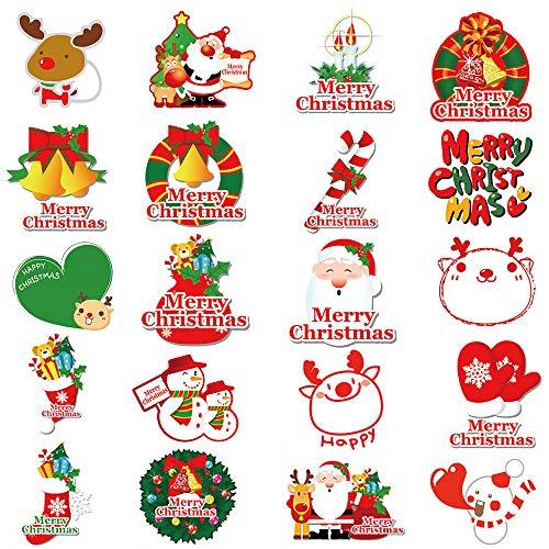 40pcs Pegatina Navidad Etiqueta Adhesiva Regalo Cumpleaños
