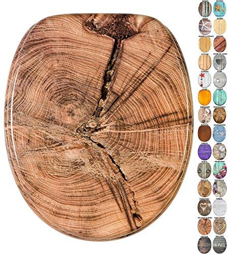 Sedile wc   grande scelta di belli sedili wc da legno robusto e di alta qualità (albero vecchio)
